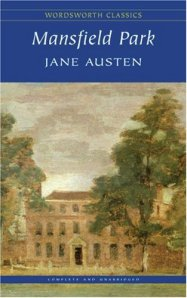 Mansfield Park 1992 Cover