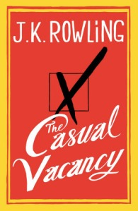 "U.S Cover for ""The Casual Vacancy"""