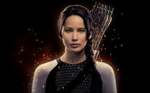 "Katniss Everdeen in ""Catching Fire"""