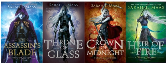 The Throne of Glass Series by Sarah J. Maas
