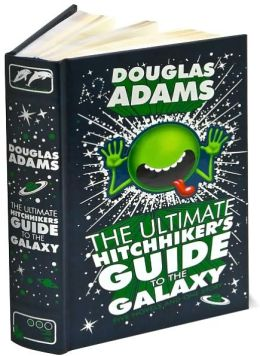 """The Ultimate Hitchhiker's Guide to the Galaxy."" Image Source: Barnes & Noble"