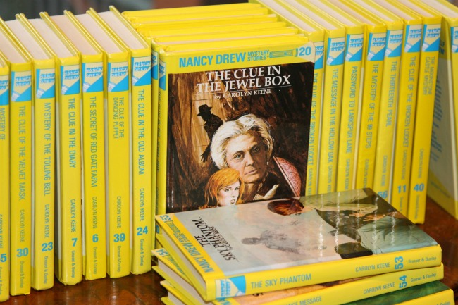 """The Nancy Drew Mystery Series."" Image Source: Readers Unbound (blog)"
