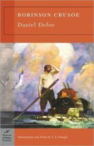 """Cover for """"Robinson Crusoe."""" Image Source: Barnesandnoble.com"""