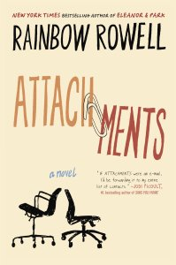 """""""Attachments"""" by Rainbow Rowell. Image Source: Amazon.com"""