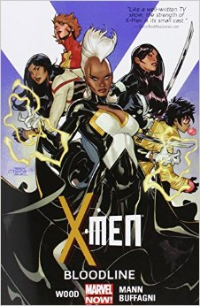 """X-Men Vol. 3: Bloodline"" by Brian Wood. Image Source: Amazon.com"