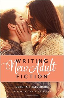 """Writing New Adult Fiction"" by Deborah Halverson. Image Source from Amazon.com"